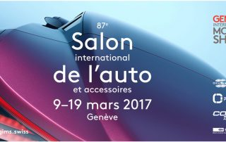 Salon auto Genève 2017 - One Change - Bureau de change Annecy